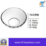 Clear Crystal Glass Sweet Bowl Bon Price Glassware Kb-Hn0188