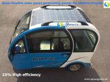 el panel solar Semi-Flexible arriba eficiente 189W (applicated en el triciclo eléctrico)