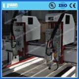Fait dans le prix de découpage en bois de machine de la Double-Tête 3D de la Chine