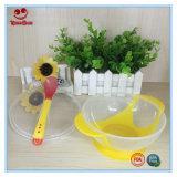 Tazón de succión con cuchara cambiadora de color para alimentar al bebé
