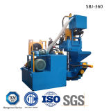 Briquettersの機械をリサイクルする自動アルミニウム鉄の金属のくずの油圧煉炭-- (SBJ-360)