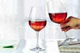 최신 판매 Handmade 백색 착색된 포도주 잔 또는 받침 달린 컵