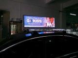 Tapa LED del taxi P5 que hace publicidad de la visualización con el control de WiFi