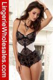 Сексуальный Nightwear Romper женское бельё игрушечного Lace&Mesh заплатки подтяжк женщин