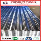 Hoja galvanizada del hierro acanalado del metal del cinc de la INMERSIÓN caliente de SGCC