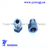 Montaggio di tubo flessibile maschio del trattore a cingoli, adattatore adatto del connettore di Hydrauli per il tubo