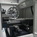 El fáciles más nuevos funcionan la máquina del torno de la reparación de la rueda de la aleación de la PC