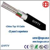 Miembro de la fuerza no metálica del tubo suelto Cable de fibra óptica no blindado