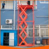 هيدروليّة كهربائيّة يقصّ ثابتة مصعد من لأنّ بضائع مستودع شحن