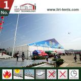 Grande tenda di mostra per la fiera commerciale internazionale dell'aria