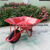 金属の皿の一輪車Wb6201