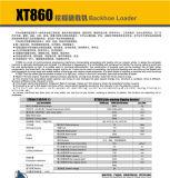 Chargeur modèle de la pelle rétro Xt860 des machines de construction XCMG