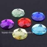 Bergkristal van de Gemmen van het Bergkristal van Flatback het Acryl Plastic Acryl om 20mm (fB-om 20mm)