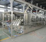 Terminar a máquina de embalagem de enchimento da água de frasco de 5 galões/a linha produção de enchimento do tambor