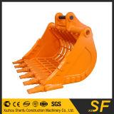 굴착기 해골 물통, 굴착기 기계장치 체 수수께끼 물통