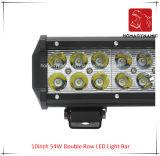 Het LEIDENE Licht van de Auto van 10 LEIDENE van de Rij van de Duim 54W Dubbele Lichte Staaf Waterdicht voor leiden van de Auto SUV van het Licht van de Weg en LEIDEN DrijfLicht