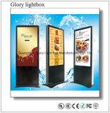 LCDのパネルKisokを立てる55インチの掲示板の床