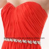 Кристаллы a lhbim женщин шифоновые - линия длиннее платье вечера
