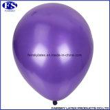 """紫色の河北の気球の工場安い広告のおもちゃの乳液12の""""真珠の気球"""