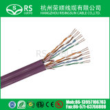 Cable del ordenador de UTP CAT6 CCA con el bajo costo ISO9001/Ce