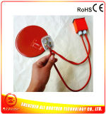 calefator redondo elétrico do silicone do diâmetro 260*1.5mm de 110V 200W