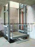 هيدروليّة يرفع من شاقوليّ عمليّة شحن مصعد