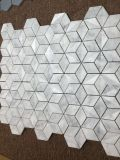 Мозаика мозаики Ilusion 3D блокируя мраморный