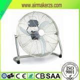 18 hohe Geschwindigkeits-elektrischer Ventilator-leistungsfähiger Fußboden-Ventilator des Zoll-45cm
