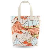 ギフトのペーパーNonwovenショッピング・バッグの綿のキャンバスのハンドルのショッピング・バッグ(X011)