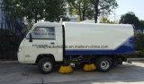 歩道の道路掃除人の道のクリーニングのトラックの価格