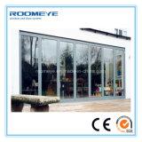 Двери складчатости Roomeye алюминиевые имеющиеся в различной двери цвета/алюминиевых Bi-Складывая