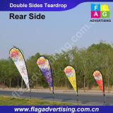 Рекламировать флаг пляжа знамени Teardrop стойки знамени летания