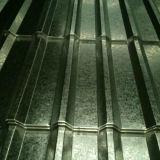 folha de aço ondulada galvanizada fina da telhadura da placa de aço de 0.14mm
