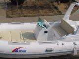 Barca gonfiabile della nervatura, imbarcazione a motore di sport, peschereccio Rib520c con il CERT del Ce