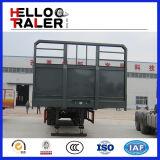 De Chinese Aanhangwagen van de Zijwand van de tri-As 50ton Bulk Semi
