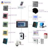 Système 2016 à la maison sec de domotique de contrôleur de Zigbee dans le Gateway de Zigbee de tablette de mur