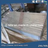 Bobina de acero galvanizada Caliente-Sumergida en la hoja para la casa