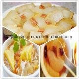 Metà inscatolate della pera, pera, conserva di frutta