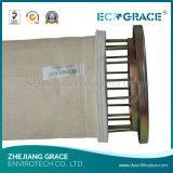 Sacchetto filtro del poliestere del sistema di accumulazione di polvere di lavorazione del tabacco
