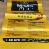 Bolso de pila de discos tejido PP impreso aduana famosa de la marca de fábrica
