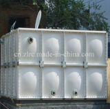 Réservoir d'eau FRP / GRP 1m3-1000m3 Récipient de stockage d'eau