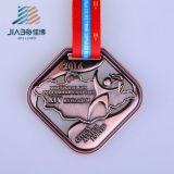 Medaglia olimpica miracolosa su ordinazione del metallo di rame antico all'ingrosso poco costoso