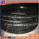 SAE100 DIN R1, R2, 2sn, boyau 4sh/Sp en caoutchouc hydraulique