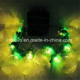 lumière actionnée solaire de chaîne de caractères de l'ananas 10LED (RS1024C)