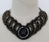 Collar fornido cristalino del collar del ahogador del traje del encanto de la joyería de 2015 maneras