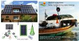 3W caliente con energía solar 3W LED Solar lámpara recargable solar kit de luz SRE-99g-1