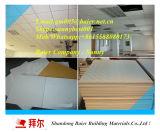 azulejos laminados PVC de la tarjeta de 595X595X7m m, azulejos del techo del PVC