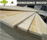 madera contrachapada del pino de 1220X2440m m Radiata para los muebles