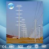 línea de transmisión galvanizada 110kv de potencia torre