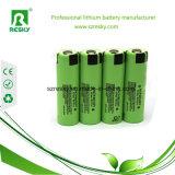 Cellules de batterie initiales NCR18650PF de Li-ion